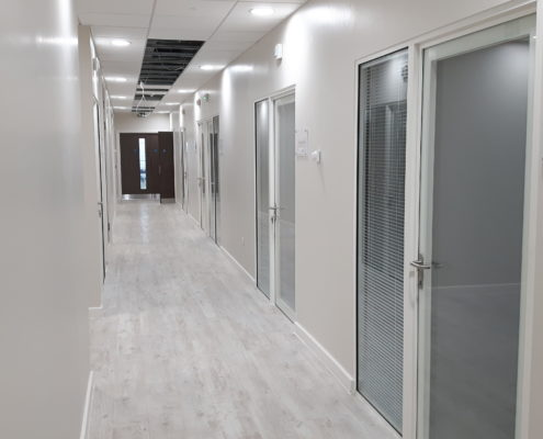 One Hatfield Hospital Glass Office Solutions